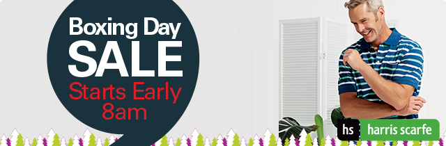 Boxing Day Sale Starts Early - Harris Scarfe