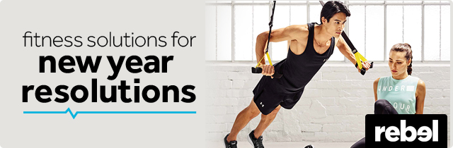 Fitness Solutions for New Year Resolutions  -Rebel