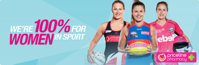 We are 100% for Women in Sport - Priceline AU