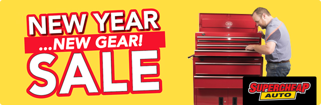 New Year Sale New Gear - Supercheap AU