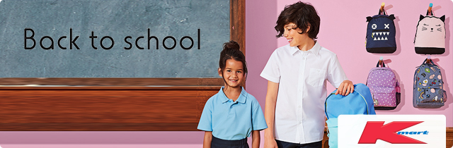 Back To School - Kmart AU