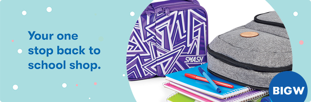 Your One Stop Back To School Shop - Big W