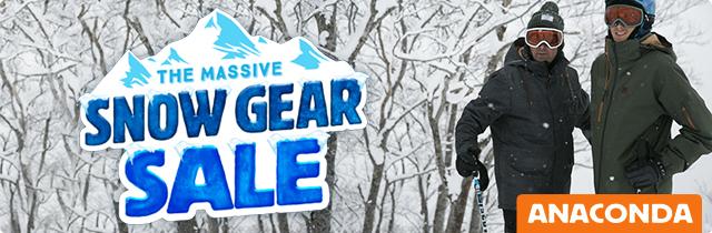 The Massive Snow Gear Sale - Anaconda