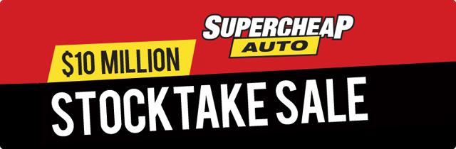 Stock Take Sale -Supercheap Auto AU
