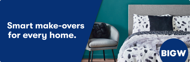 Smart Make-Overs For Every Home - BigW