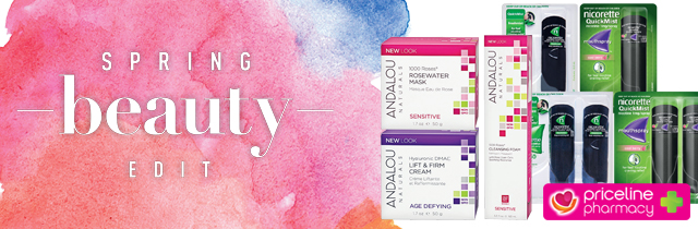 Spring Beauty Edit - Priceline AU
