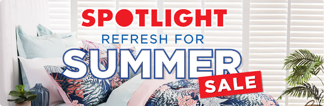 Refresh for Summer Sale - Spotlight AU