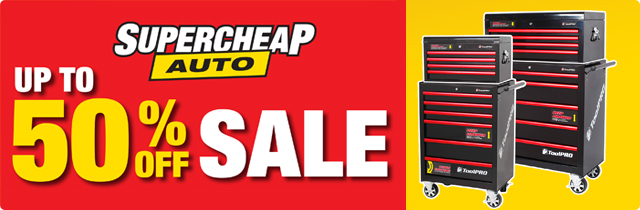 Up To 50% Off Sale - Supercheap AU