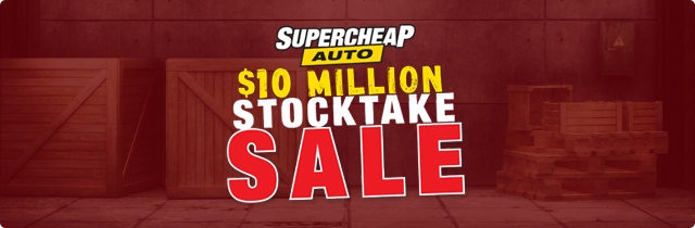 Stocktake Sale - Supercheap AU