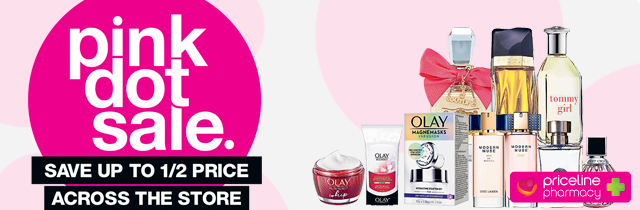 Pink Dot Sale - Priceline AU