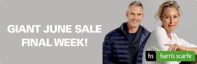Giant June Sale Final Week - Harris Scarfe