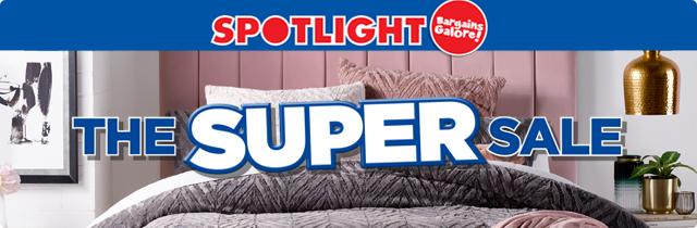 The Super Sale  - Spotlight AU