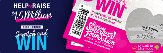 Sisterhood Scratch and Win - Priceline