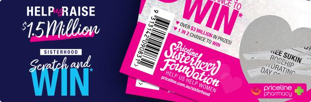 Sisterhood Scratch and Win - Priceline