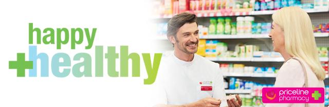 Happy + Healthy - Priceline Austrlia
