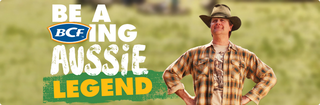 Be a BCFing Aussie Legend - BCF