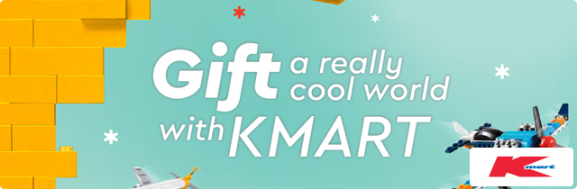 Gift a Really Cool World with Kmart - Kmart