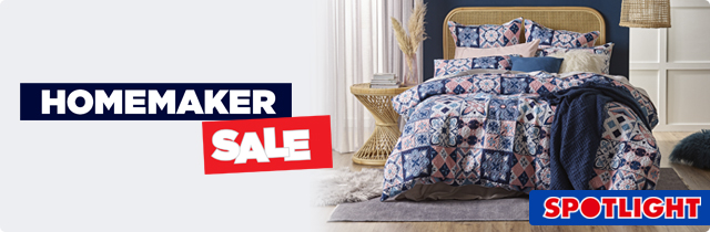 Homemaker Sale - Spotlight