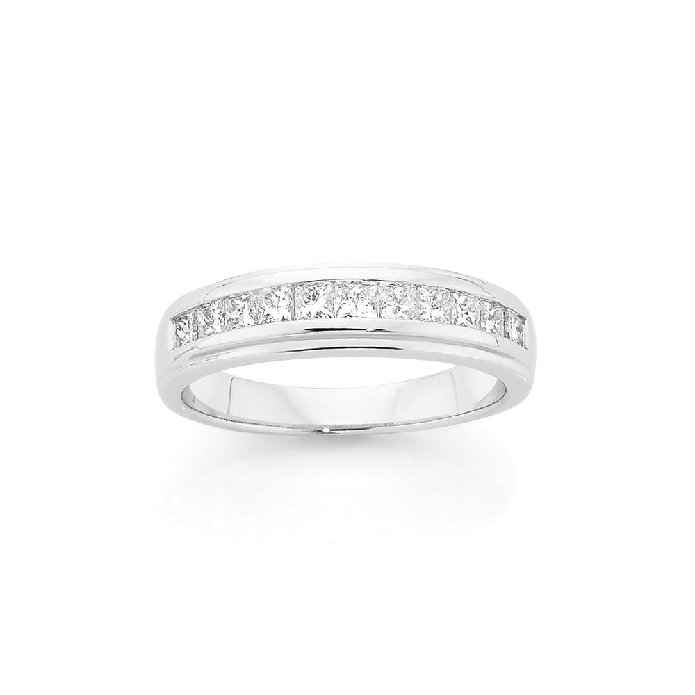 18ct White Gold Diamond Band Angus Coote Catalogue Salefinder