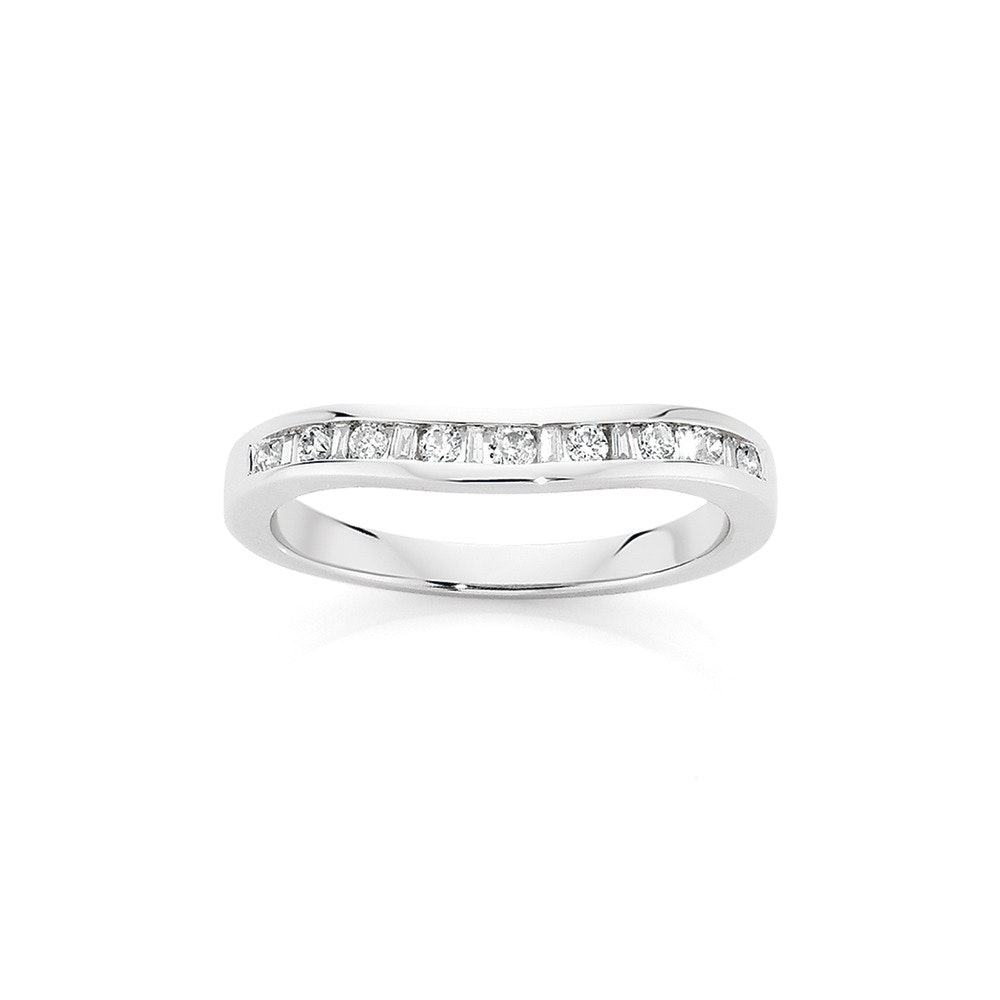9ct White Gold Diamond Eternity Ring Angus Coote Catalogue