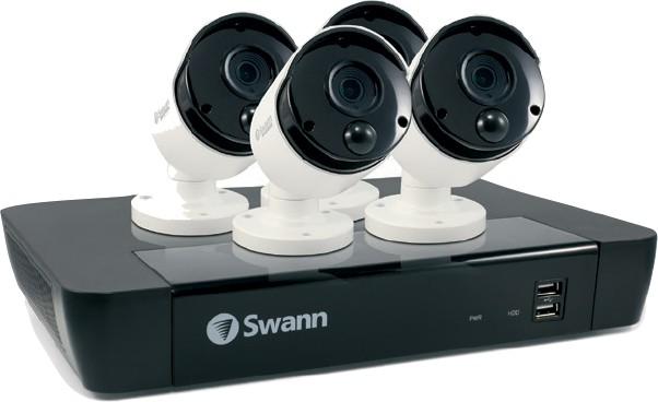 Swann 8 Channel UHD NVR Kit with 4 x 4K Cameras - Jaycar