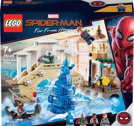 NEW LEGO Marvel Spider-Man Hydro-Man Attack 76129 - Big W Catalogue