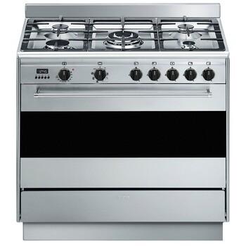 Smeg 90cm Thermoseal Freestanding Cooker