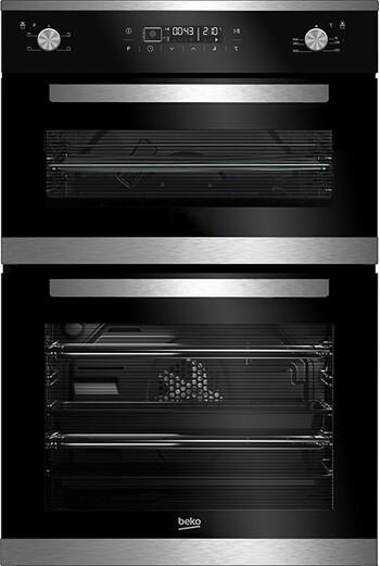 Beko - BDM25400XM - 81L Multifunction Built-in Double Oven