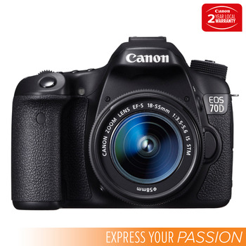 Canon Digital SLR - EOS 70D KIS - Single Lens Kit