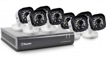 Swann DVR8-1580 - 8 Channel 720p Digital Video Recorder & 8 x PRO-T835 Cameras