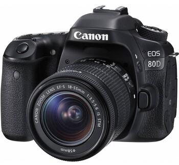 Canon - EOS 80D Single Kit - 18-55mm