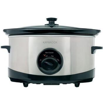 Kambrook - KSC110 - Stainless 6L Slow Cooker