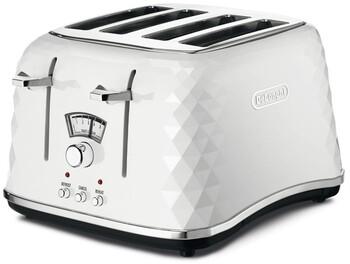 DeLonghi - CTJ4003W - 4-Slice Toaster