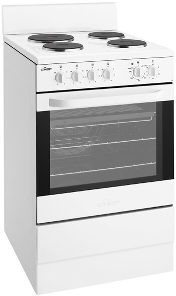 Chef - CFE536WA - 54cm Freestanding Electric Cooker