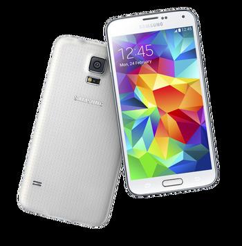 Samsung - Galaxy S5 - Smartphone - 16GB - White - UNLOCKED