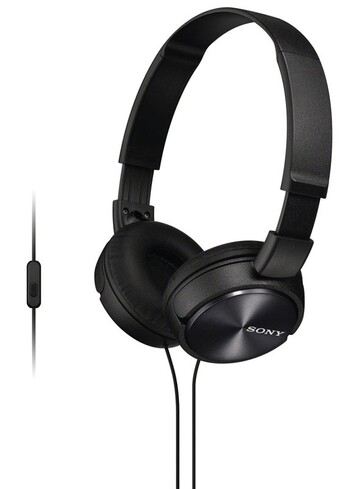 Sony - MDRZX310APB - Sound Monitoring Headphones (Black)