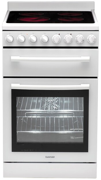 Euromaid 54cm Electric Ceramic Upright Cooker