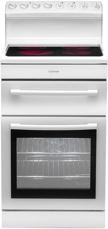 Euromaid - R54CW - 54cm Freestanding Cooker