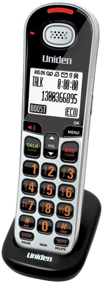 Uniden - SS E06 - Optional* XDECT Digital Cordless Handset