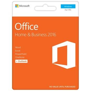 Microsoft - Office Home & Business 2016 eVoucher - PC