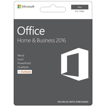 Microsoft - Office Home & Business 2016 eVoucher- 1 Mac Only
