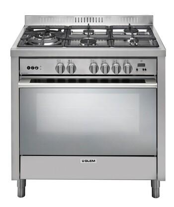 Glem - IT965MVI2 - 90cm Freestanding Gas Cooker