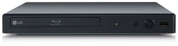 LG Blu-Ray Player With Wi-Fi