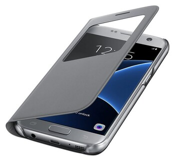 Samsung - EF-CG930PSEGWW - S View Cover (Galaxy S7)