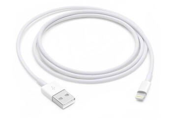 Apple - MD818AM/A - 1m Lightning to USB Cable