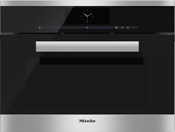 Miele - DGC6805XL Clean Steel - Steam Combination Oven in XL Format