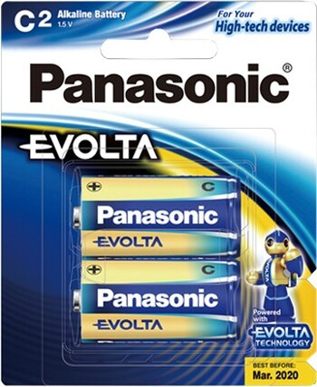 Panasonic - LR14EG/2B - EVOLTA C 2pk