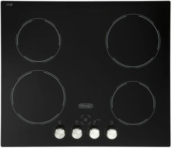 DeLonghi - DECH60SX1 - 60cm Black Glass Ceramic Cooktop