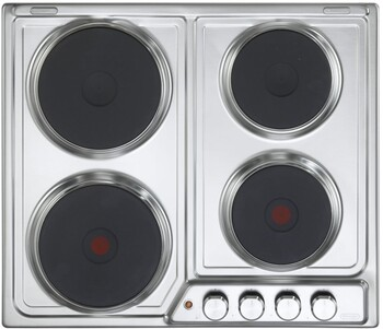 DeLonghi - DEH60SX1 - 60cm Electric Cooktop Stainless Steel