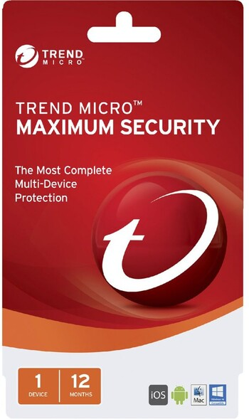 TrendMicro - Maximum Security 1 Device 12 Months